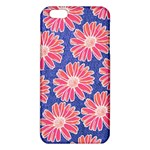 Pink Daisy Pattern iPhone 6 Plus/6S Plus TPU Case Front