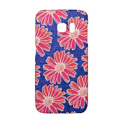 Pink Daisy Pattern Galaxy S6 Edge