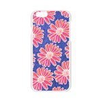 Pink Daisy Pattern Apple Seamless iPhone 6/6S Case (Transparent) Front