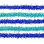 Metallic Blue Glitter Stripes Deluxe Canvas 14  x 11  14  x 11  x 1.5  Stretched Canvas