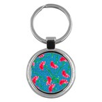 Carnations Key Chains (Round)  Front