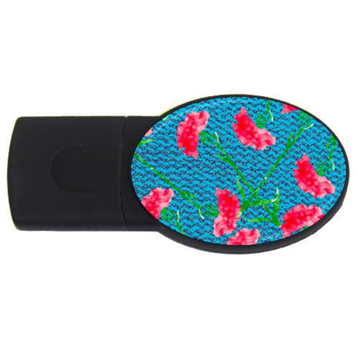 Carnations USB Flash Drive Oval (2 GB)