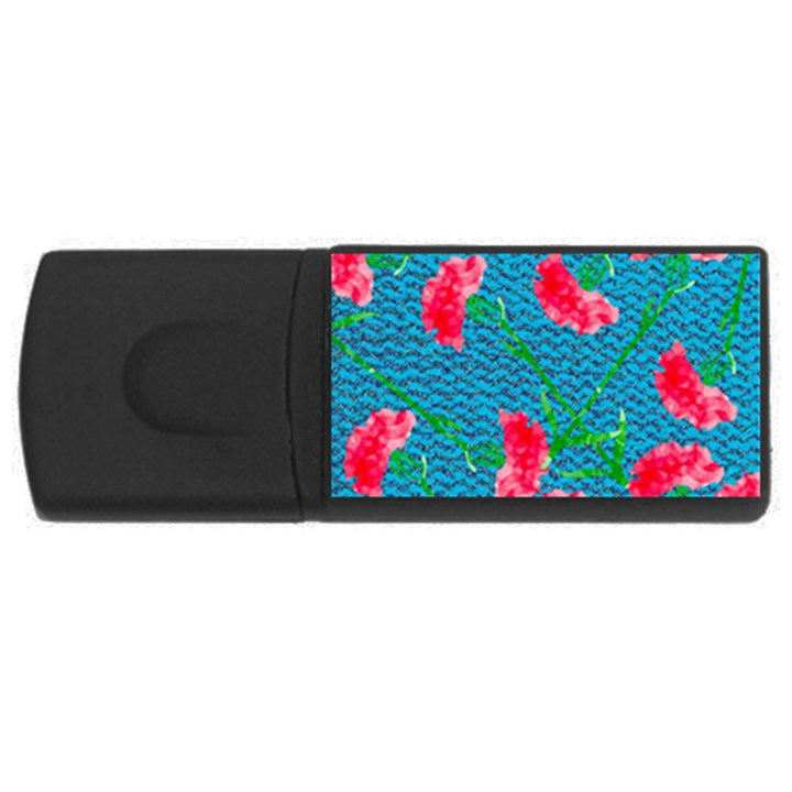 Carnations USB Flash Drive Rectangular (1 GB)