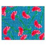 Carnations Rectangular Jigsaw Puzzl Front