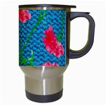 Carnations Travel Mugs (White) Right