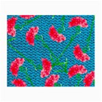 Carnations Small Glasses Cloth Front