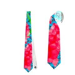Carnations Neckties (one Side)