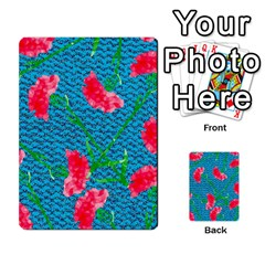 Carnations Multi Purpose Cards (rectangle)
