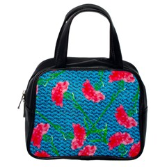 Carnations Classic Handbags (One Side)