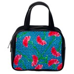 Carnations Classic Handbags (One Side) Front