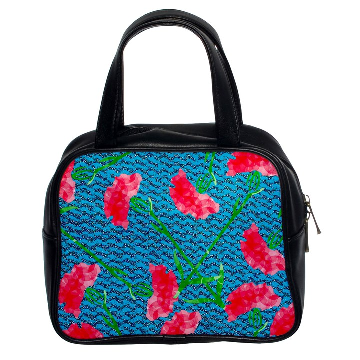 Carnations Classic Handbags (2 Sides)