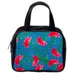 Carnations Classic Handbags (2 Sides) Back