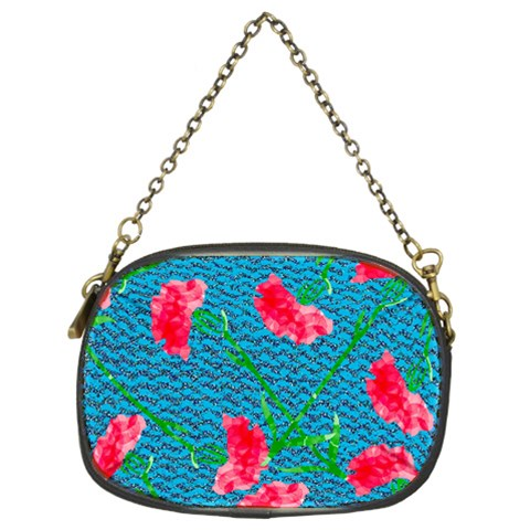 Carnations Chain Purses (Two Sides)