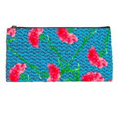 Carnations Pencil Cases