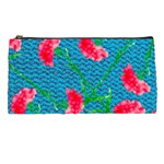Carnations Pencil Cases Front