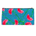 Carnations Pencil Cases Back