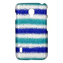 Metallic Blue Glitter Stripes LG Optimus L7 II