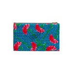 Carnations Cosmetic Bag (Small)  Back