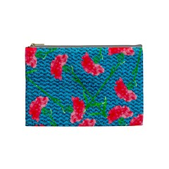 Carnations Cosmetic Bag (Medium)