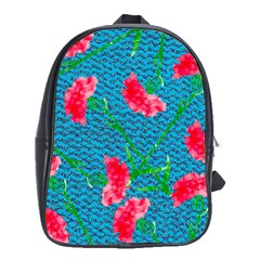 Carnations School Bags(large)