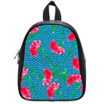 Carnations School Bags (Small)  Front