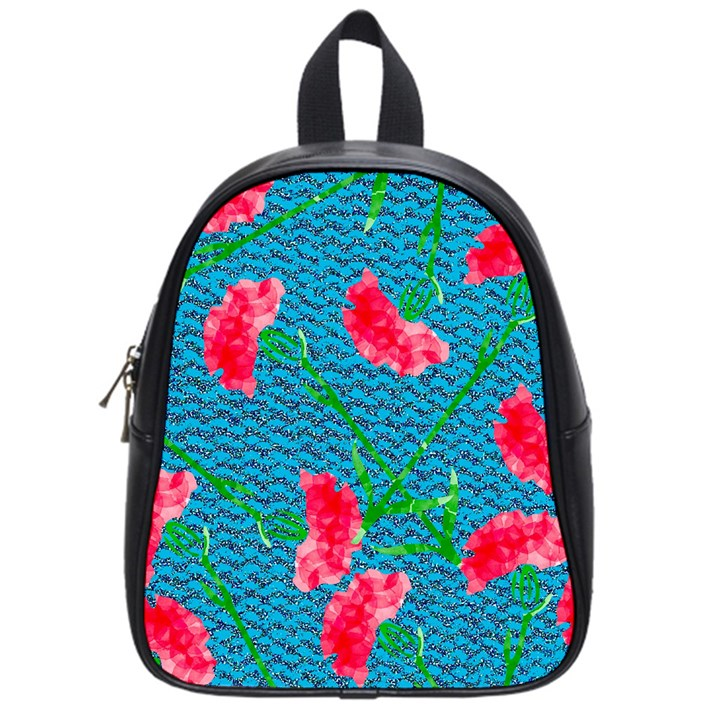 Carnations School Bags (Small)