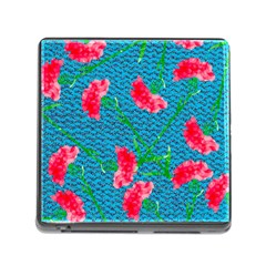 Carnations Memory Card Reader (Square)