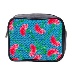 Carnations Mini Toiletries Bag 2 Side