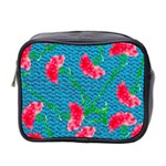 Carnations Mini Toiletries Bag 2-Side Front