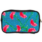 Carnations Toiletries Bags Front