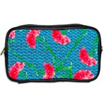 Carnations Toiletries Bags 2-Side Back