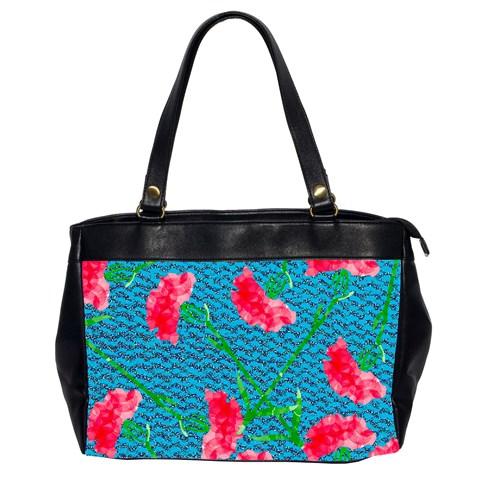 Carnations Office Handbags (2 Sides)