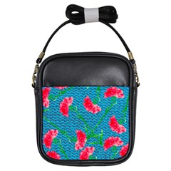 Carnations Girls Sling Bags