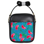 Carnations Girls Sling Bags Front