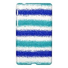 Metallic Blue Glitter Stripes Nexus 7 (2013)