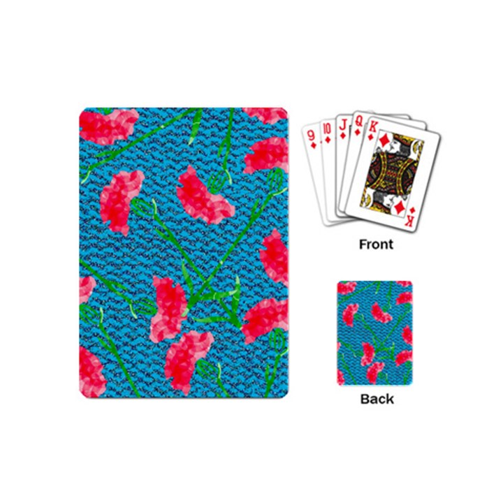 Carnations Playing Cards (Mini)