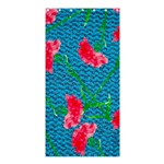 Carnations Shower Curtain 36  x 72  (Stall)  33.26 x66.24 Curtain