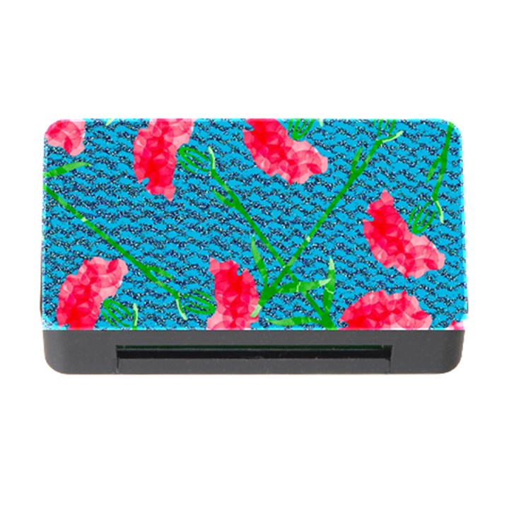 Carnations Memory Card Reader with CF