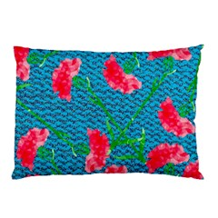 Carnations Pillow Case (two Sides)