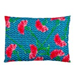 Carnations Pillow Case (Two Sides) Back