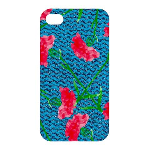 Carnations Apple iPhone 4/4S Hardshell Case