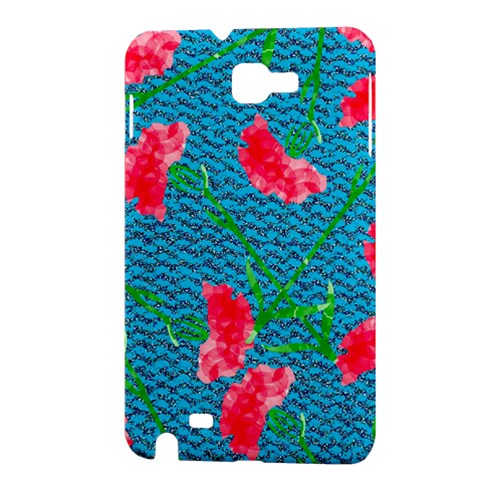 Carnations Samsung Galaxy Note 1 Hardshell Case
