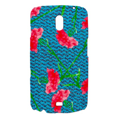 Carnations Samsung Galaxy Nexus i9250 Hardshell Case