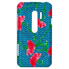 Carnations HTC Evo 3D Hardshell Case
