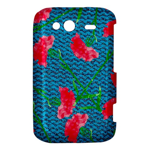Carnations HTC Wildfire S A510e Hardshell Case