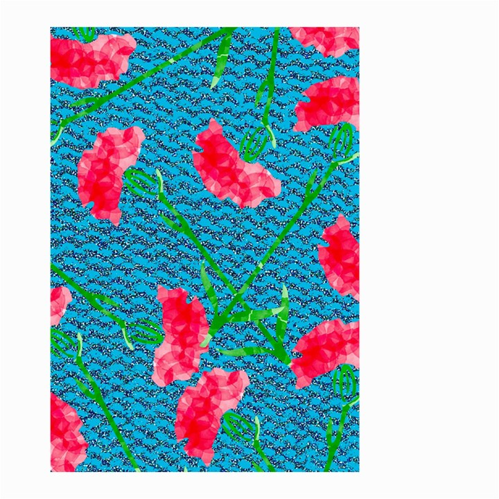 Carnations Small Garden Flag (Two Sides)