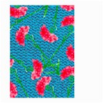 Carnations Small Garden Flag (Two Sides) Back