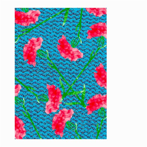 Carnations Large Garden Flag (Two Sides)