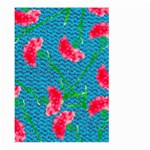 Carnations Large Garden Flag (Two Sides) Back