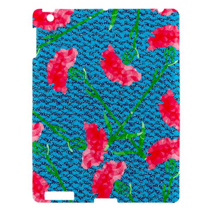 Carnations Apple iPad 3/4 Hardshell Case